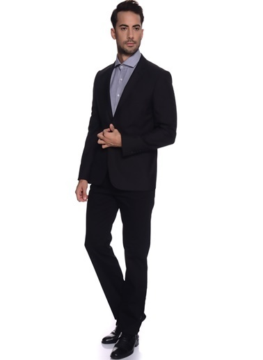 Cotton Bar Cotton Bar Siyah Erkek Ceket Siyah